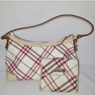 💯 Authentic Burberry Bag and Wallet