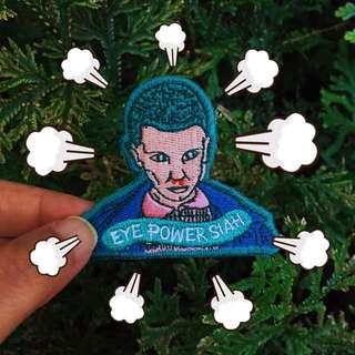 Stranger Things Eleven Patch