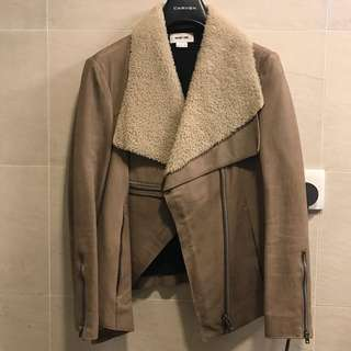 Helmut Lang leather jacket (size s)