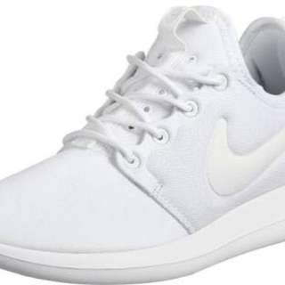 w nike roshe two white REDUCED - $50