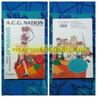 Buku Komik Comic Novel Grafik Manga Gempak Starz ACG Nation - Chocolat karya Kubonouchi Eisaku
