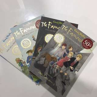 Enid Bliton 'The Famous Five collection'