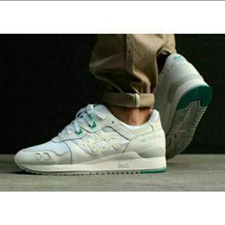 "Authentic Onitsuka ASICS Gel Lyte 3 ""White/Teal"