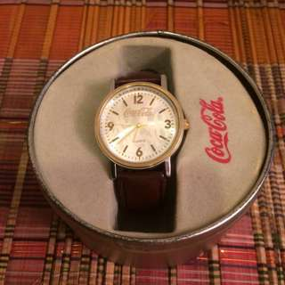 🆕Coca Cola Watch new in Coca Cola tin box