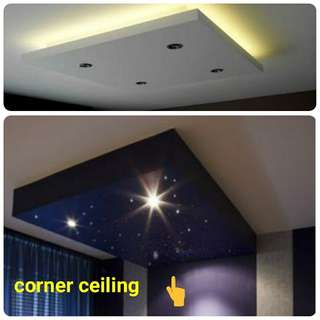 Dropped ceiling light