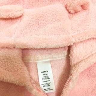 Carter's 粉紅連帽外套