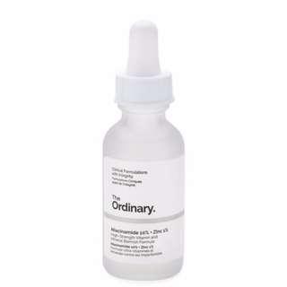 The Ordinary: Niacinamide 10% + Zinc 1%