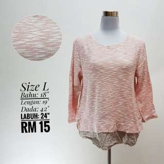 Knitted Top Pink