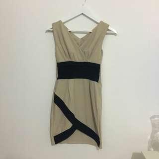 Creamy Bodycon Dress