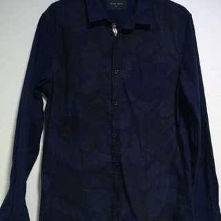 Rope Man Blue Checkers Shirt