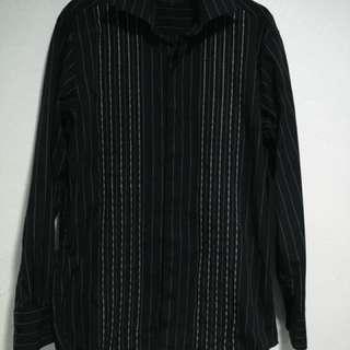 Padini Stripe Black Shirt
