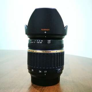 [Last Price] TAMRON AF 17-50mms F2.8 XR Di II LD Aspherical (Nikon Mount)