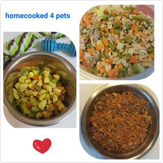Home cooked fresh dog food (1kg)