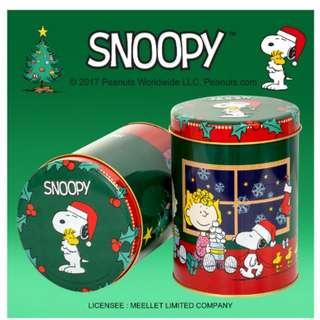 聖誕禮物🎁台灣米樂爆谷(snoopy聖誕罐)