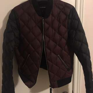 Mackage down filled quilted bomber