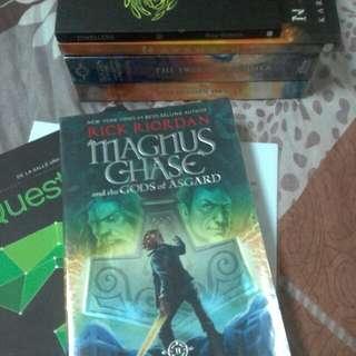 Magnus Chase, Hammer of Thor [Riordan]