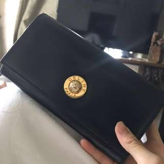 Vintage Celine long wallet RARE Not Ysl chanel gucci Hermes
