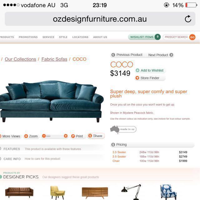 2.5 seaters sofa