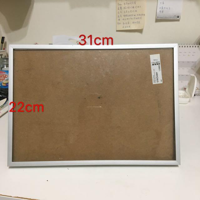 31x22cm 立式玻璃相框🖼️