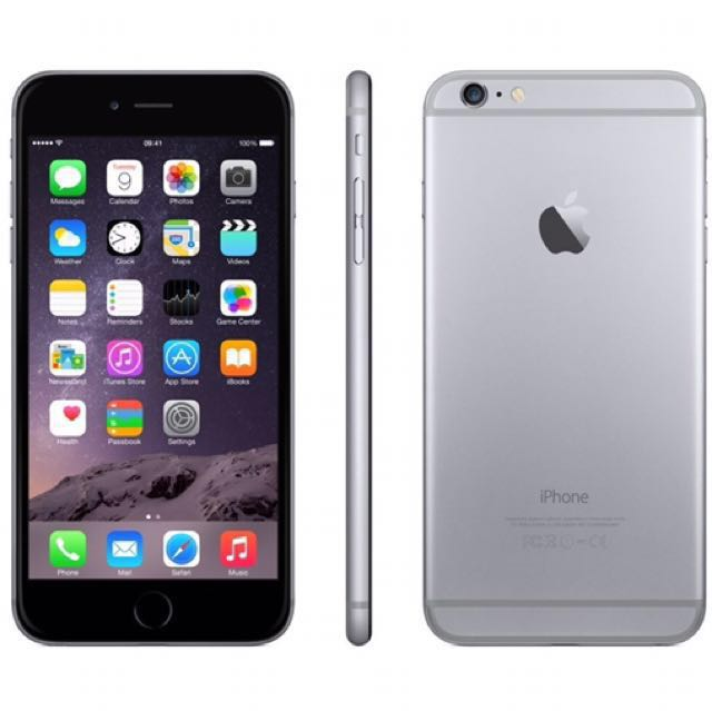 9/10 condition Space Grey iPhone 6 Plus - 16gb