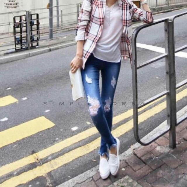 韓國牛仔褲