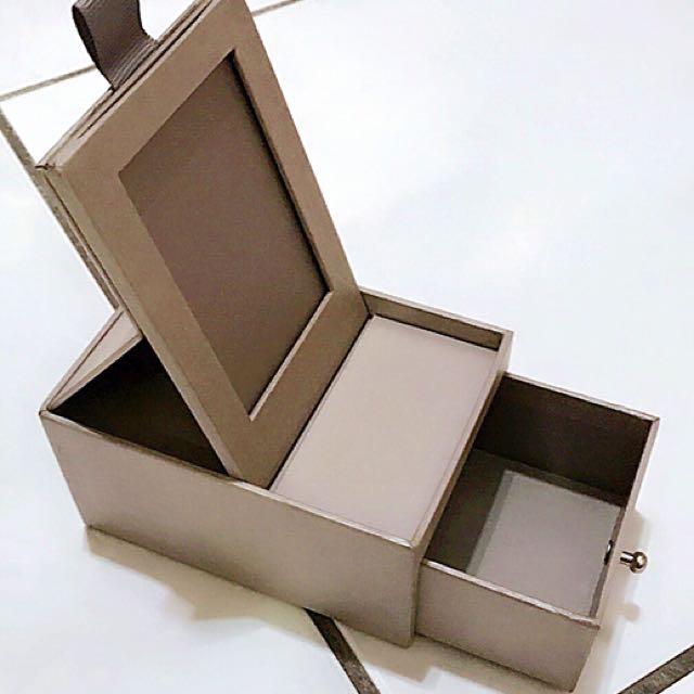 小公主♥小型珠寶盒首飾盒展示盒收藏盒收納盒