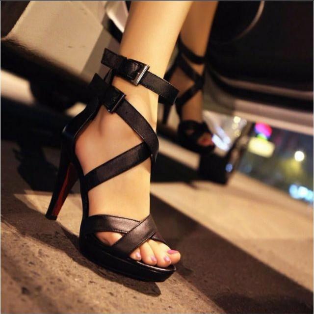 羅馬高跟鞋#超取再七折