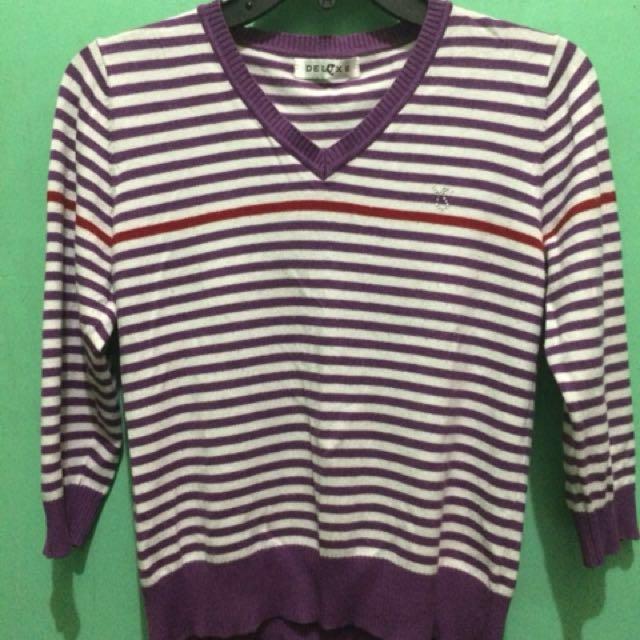 🎀 3/4 Purple Stripes 🎀