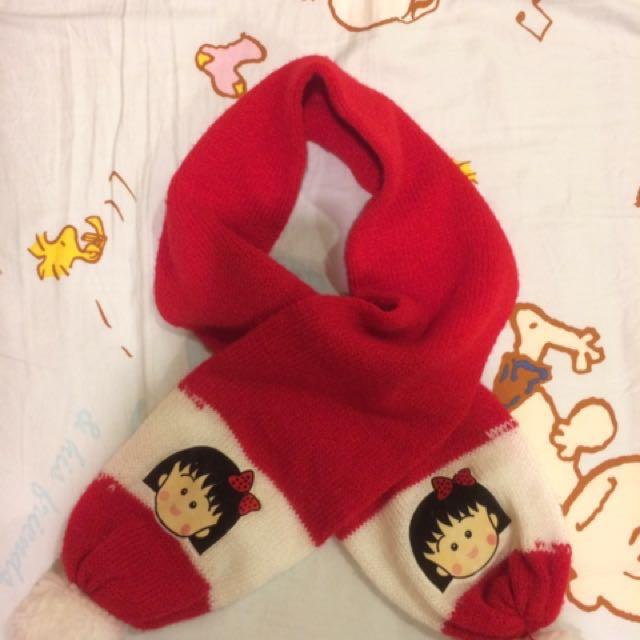 小丸子圍巾 9成新