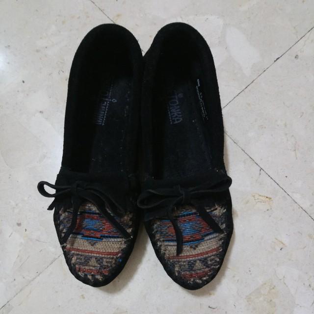 莫卡辛 民俗風平底鞋
