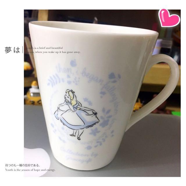 愛麗絲 花語陶瓷馬克杯