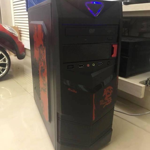 中古機 -四核心 + 獨顯電腦主機