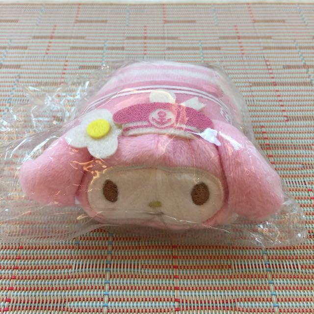 日本正品 三麗鷗 Sanrio 美樂蒂 疊疊樂 小沙包