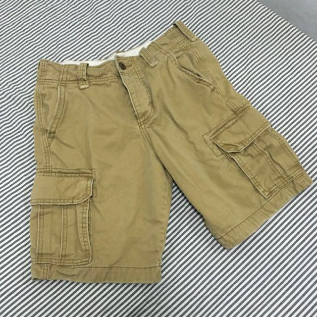 降價【 Hollister 】卡其色工作短褲