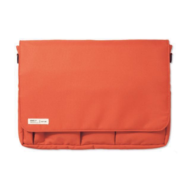 🇯🇵 (免運)LIHIT LAB. SMART FIT系列 A4 多功能收納包(橘色)、公事包、iPad 包 #幫你省運費