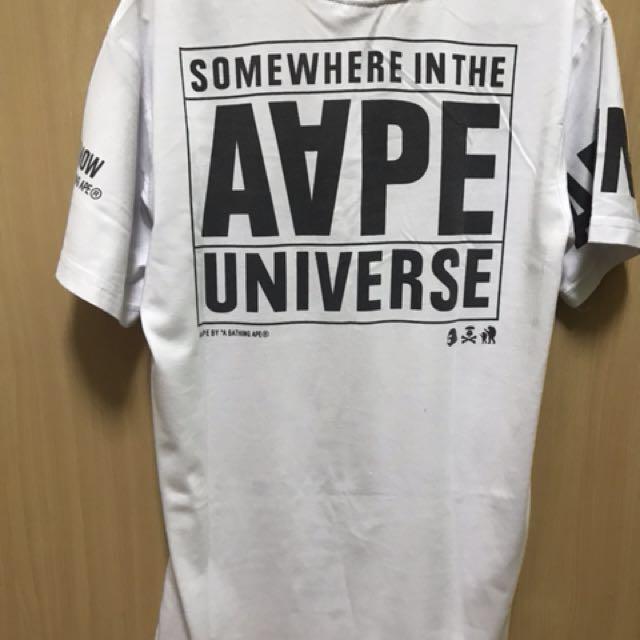 AAPE Apunvs Round Neck T-Shirt