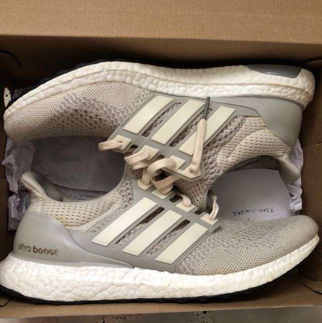 472c6fbfcde12 Adidas Ultra Boost 1.0 Cream Chalk us11