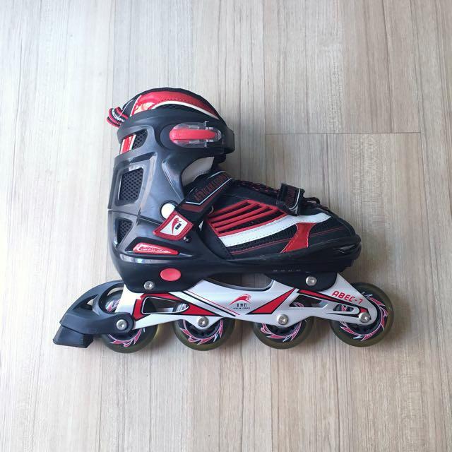 African Leopard Unisex Adjustable Roller Blades   In-line Skates ... 3d8b6a4cd1