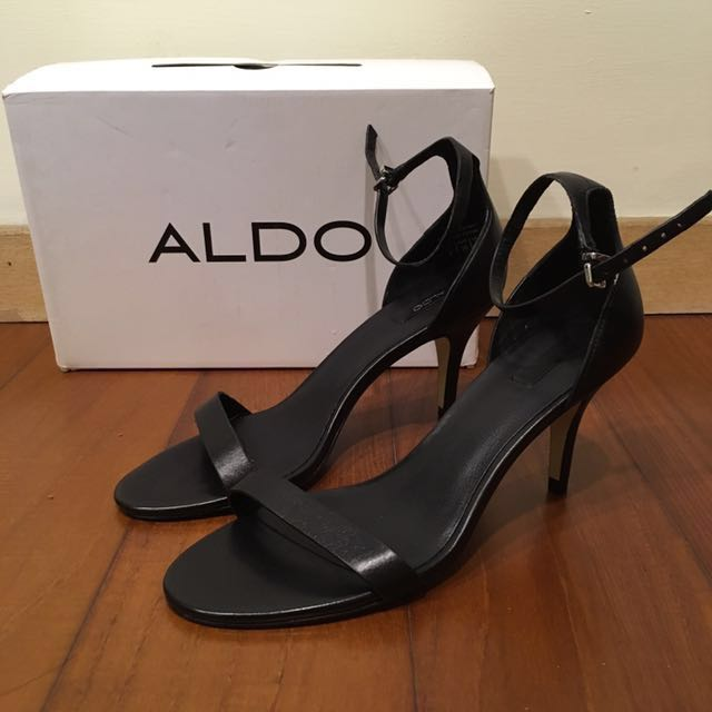 ALDO/ZENAVIA 一字高跟涼鞋