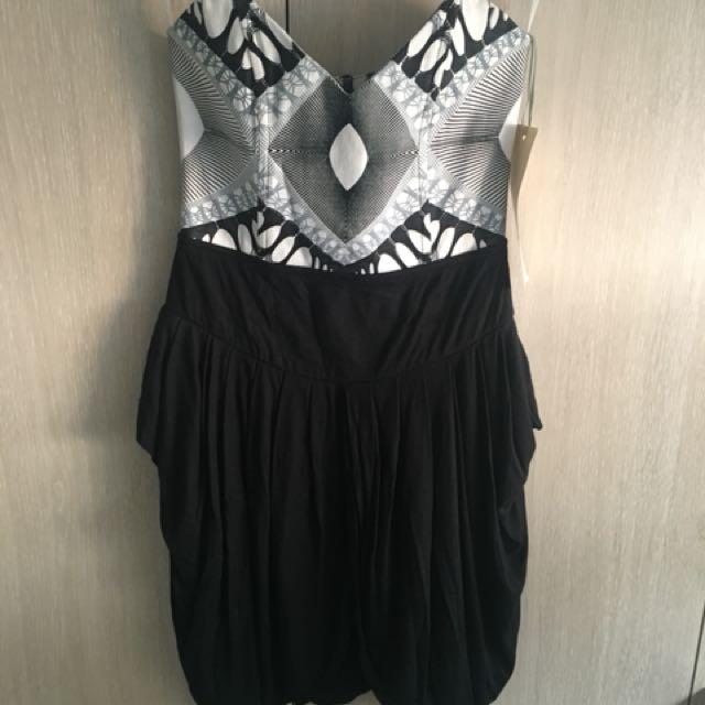 Alice McCall 'beg my pardon bustier dress' size 8