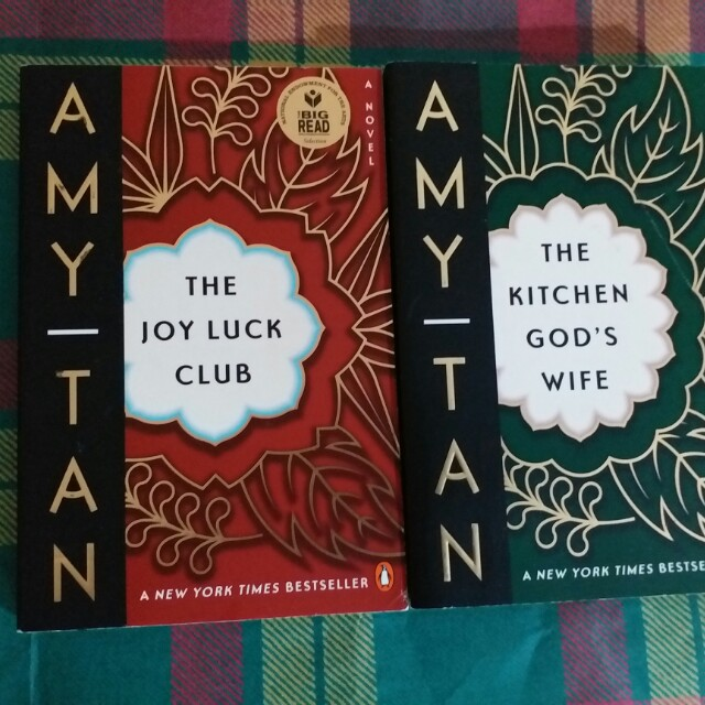Amy Tan - The Joy Luck Club and The Kitchen God's Wife