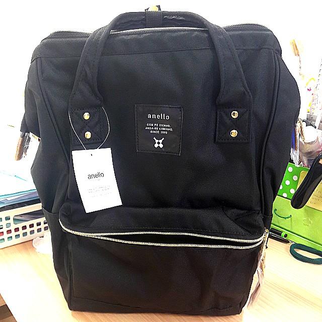 Anello Japan ORI  black oxford canvas - Regular Size #worn