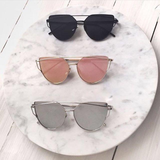 Authentic Jojo Cat Eye Sunglasses