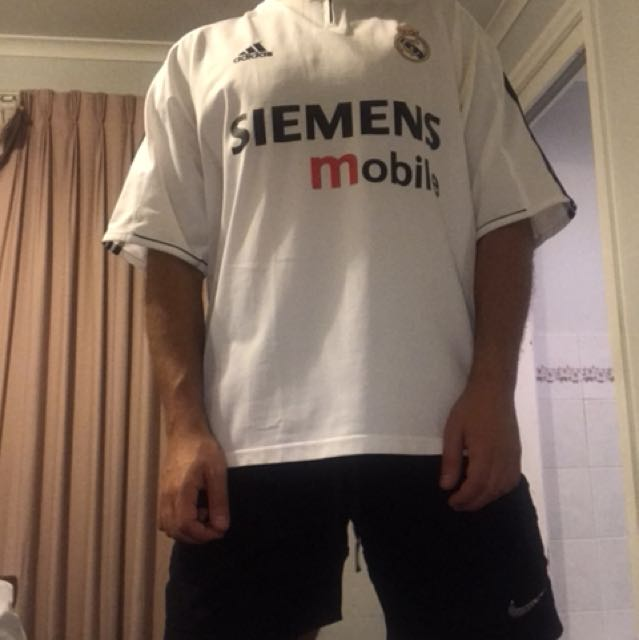 AUTHENTIC REAL MADRID JERSEY