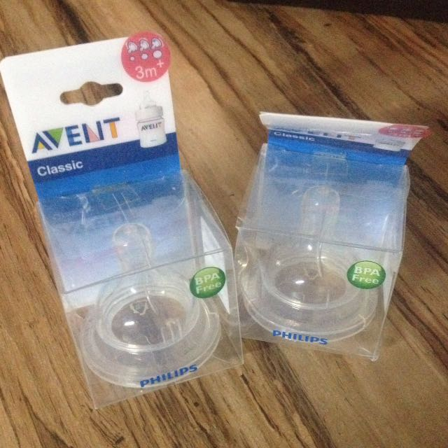 Avent classic teat for 3m+