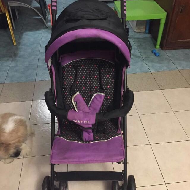 Baby 1st Brand stroller