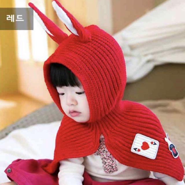 Baby rabbit hat