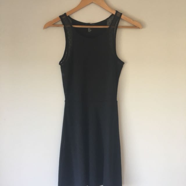 Black H&M dress size Xs