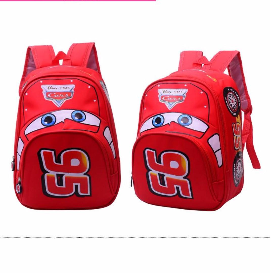 FREE mail INSTOCK BN 3D Cars School Bag Backpack Kids