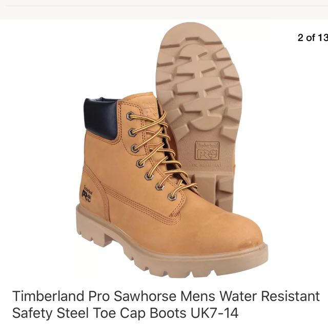 869d89c60f4 BN Timberland Boots Steel Toe